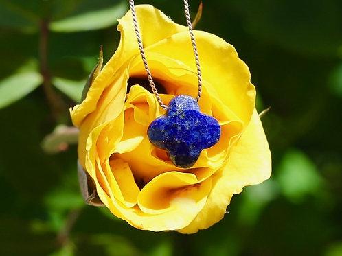 Arabesque Lapis Lazuli Necklace
