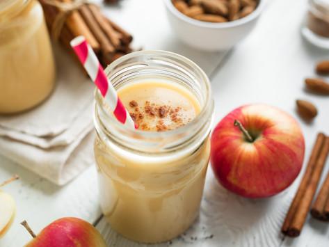 High Protein Apple Pie Smoothie