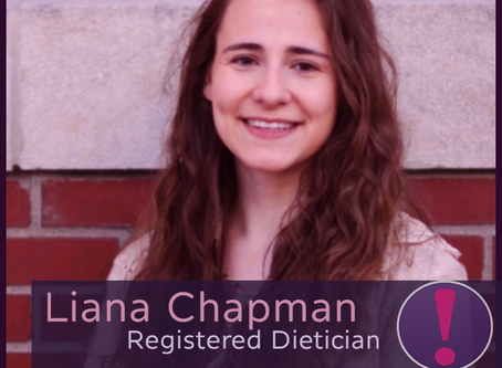 Meet Imagine's Food & Nutrition Guru, Registered Dietician, Liana Chapman!