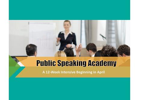 Public Speaking Academy