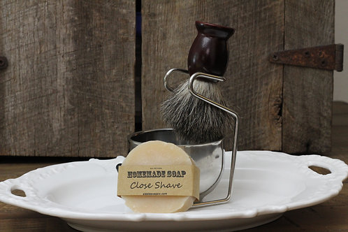Shaving Brush and Bowl