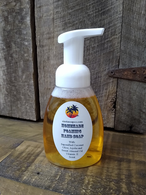 Foaming Hand Soap 8oz.