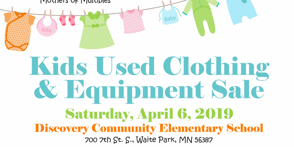 St Cloud Mothers of Multiples Annual Spring Sale