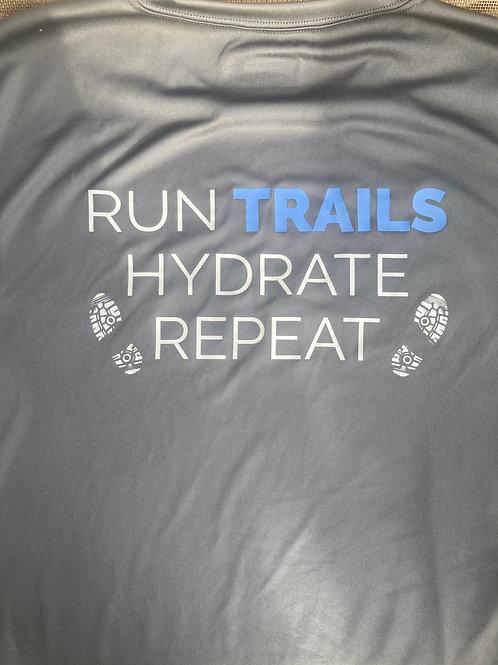 Run Trails Performance Wicking Tee