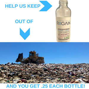 Keep REGAIN out of landfills.