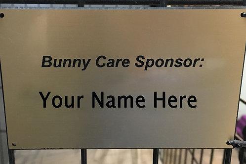 Bunny Care Sponsor 1 Year