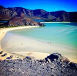Vista panorámica de Playa Balandra
