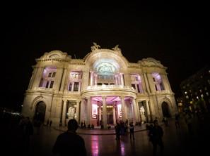 Palacio nocturno