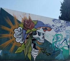 Grito - Arte en grafiti