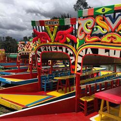 Xochimilco #mexico #mexicocity #cdmx #mx #colorful #color #colors #nofilter #nofilterneeded #photo #