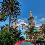 Autor: Alberto Ortega R. IG: @betooortegarz  El colorido Pueblo Mágico de de Cuetzalan, Puebla.