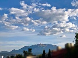 Nubes sobre el Ajusco