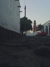 Calle solitaria