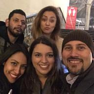 Laura, Luisa, Lisy y Oscar