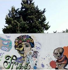 Frida - Arte en grafiti