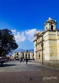 Autora: Karla Mendoza IG: @karlita7706  Centro de la ciudad de Oaxaca, Oax.