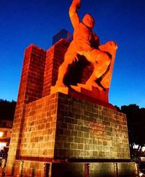 Autor: Amaury Alanis Lara IG: @Amaury_16  Monumento a El Pipila, ubicado en lo alto de la ciudad de Guanajuato.