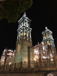 Puebla bella de noche