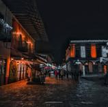 Zacatlán de noche (Puebla)