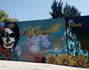 Catrina - Arte en grafiti