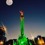 El ángel en verde
