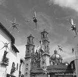 Las piñatas en Taxco