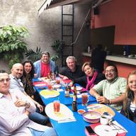 Desayuno en Coyoacán