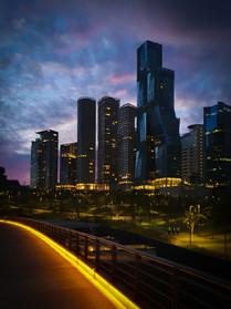 Ciudad de rascacielos