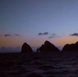 Cae la noche sobre los arcos de Cabo San Lucas (BCS)