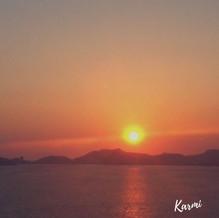Atardecer en la bahía de Acapulco