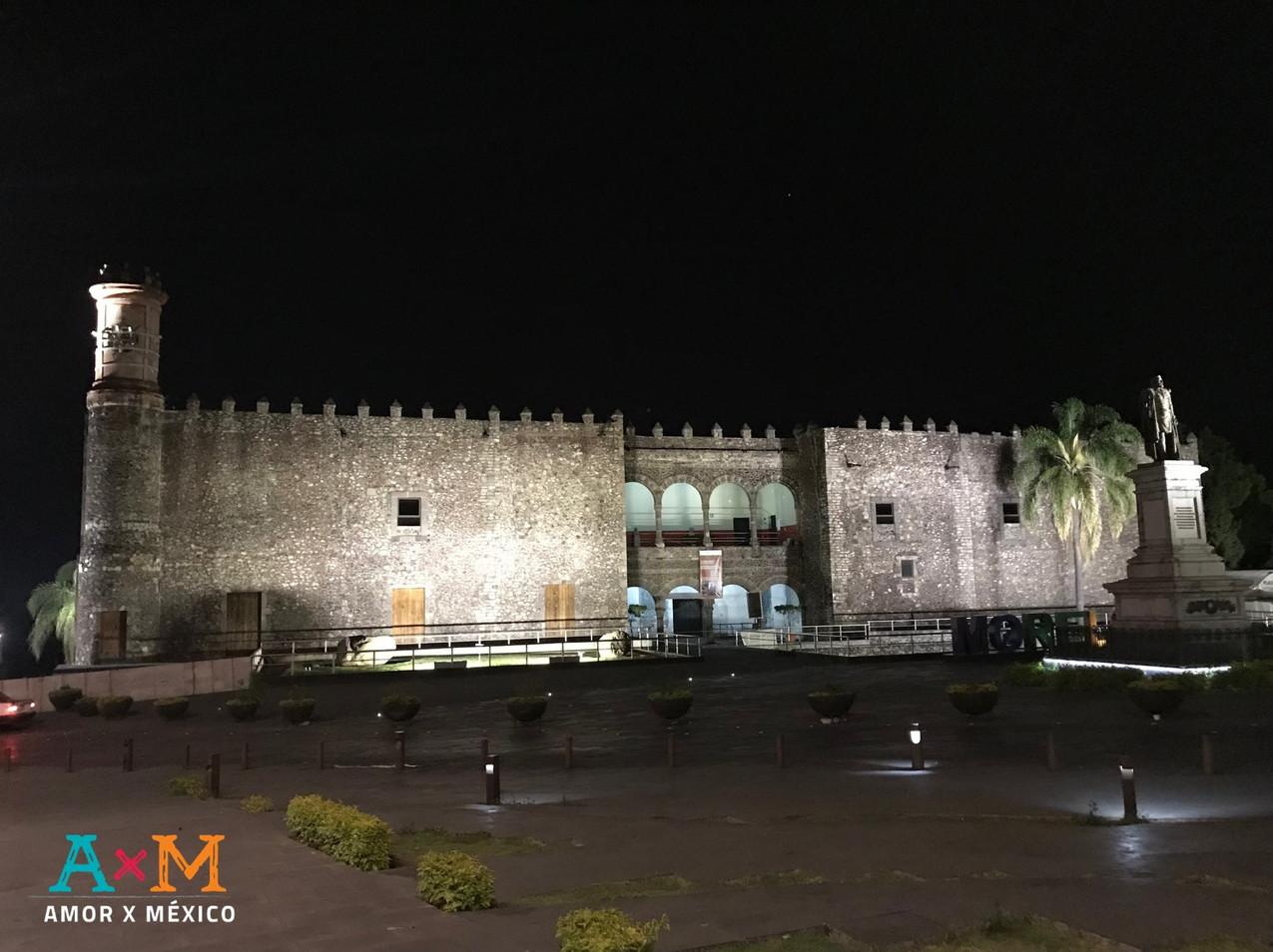 Palacio de Cortés en Cuernavaca, Morelos.