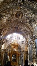 Interior del templo de San Jose en Puebla