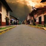 Atardecer en Zacatlán