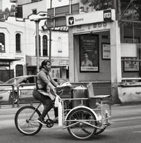 La bici de los tamales