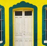 Coloridas puertas de Veracruz