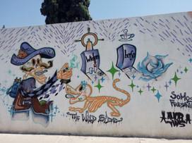 Panteón - Arte en grafiti