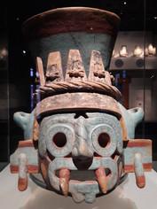 Tlaloc, Dios azteca de la lluvia.