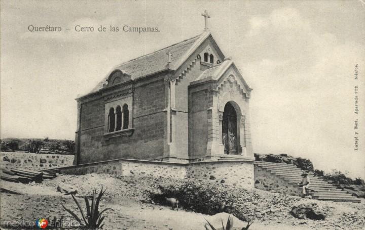 Capilla para Maximiliano en el cerro de las campanas posterior a su apertura