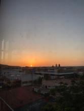 Puesta de sol sobre Tijuana