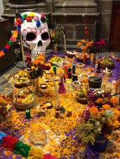 Colorido altar