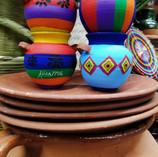 Coloridas artesanías