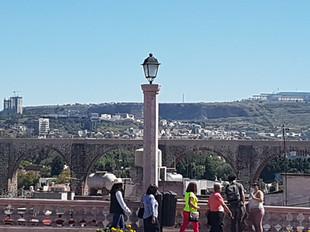 Mirador del acueducto de Querétaro