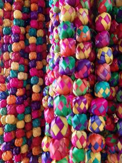 Colorida artesanía