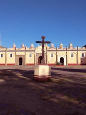 Ex-Convento sobre templo prehispánico