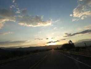 Atardecer al horizonte