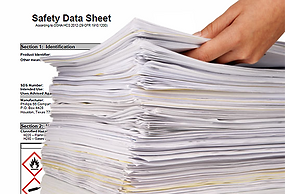 Safety Data Sheet (SDS) Management