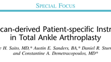 Dr. Guilherme publicou artigo na revista Techniques in Foot and Ankle Surgery