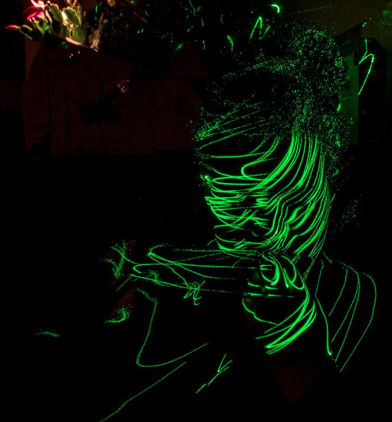 Xio lightpainting