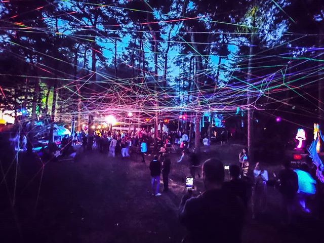 #woodwideweb at #dusk #intothewoods _avi
