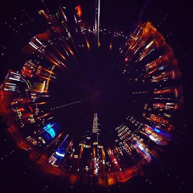 Slitscan Amsterdam #slitscan #amsterdam #skyscrapers #night #360 #seemycity #guardiancities #theimag